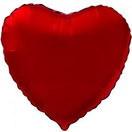 Сердце (18''/46 см), красное