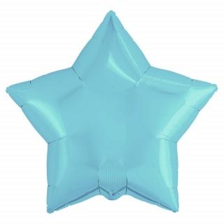 Звезда (18''/46 см), нежно-голубая