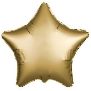 Звезда (18''/46 см), золото (сатин)