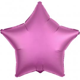 Звезда (18''/46 см), гранатовый (сатин)