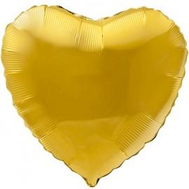 Сердце (18''/46 см), золотое