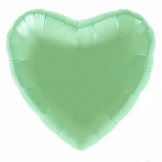 Сердце (18''/46 см), мятное