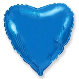 Сердце (18''/46 см), синее