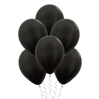 Чёрные (12''/30 см), металлик
