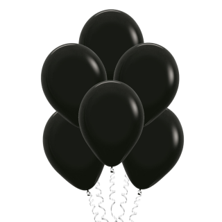 Чёрные (12''/30 см), пастель