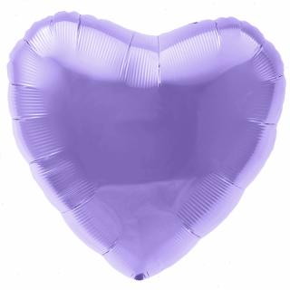 Сердце (18''/46 см), аметист