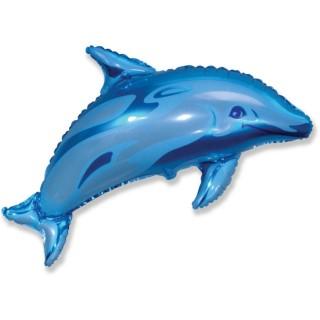 Дельфин (37''/94 см), синий