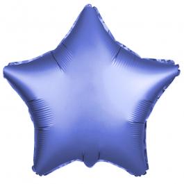 Звезда (18''/46 см), синий (сатин)