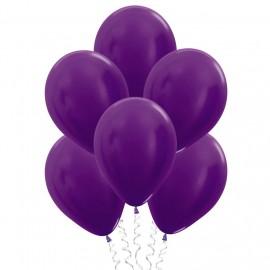 Фиолетовые шары (12''/30 см), металлик