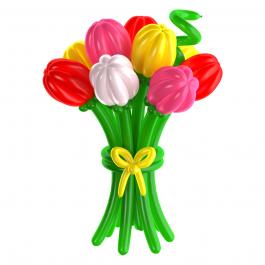 "Латексные шары ""Тюльпаны"""