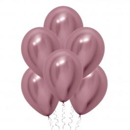 Розовые (12''/30 см), хром