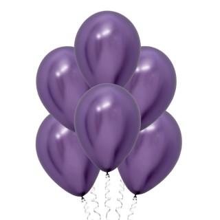 Фиолетовые (12''/30 см), хром