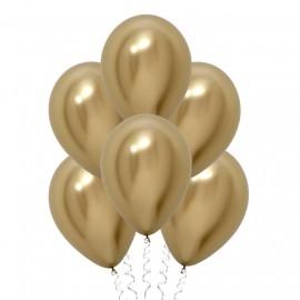 Золотые (12''/30 см), хром