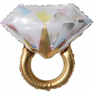 Кольцо с бриллиантом (27''/69 см)