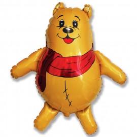 Медвежонок с красным шарфом (33''/84 см)
