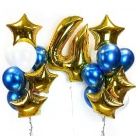 Набор шаров на День Рождения для мальчика
