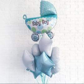 Набор шаров на выписку для мальчика
