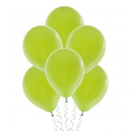 Светло-зелёные (лайм) (12''/30 см), пастель