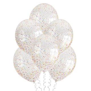 С конфетти (12''/30 см), ассорти пенопластовые шарики