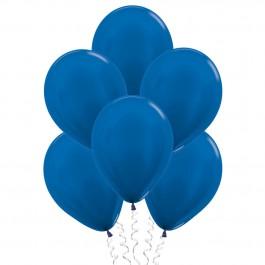 Синие (12''/30 см), металлик