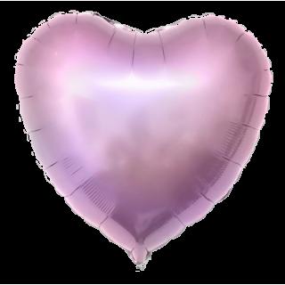 Сердце (18''/46 см), сиреневое