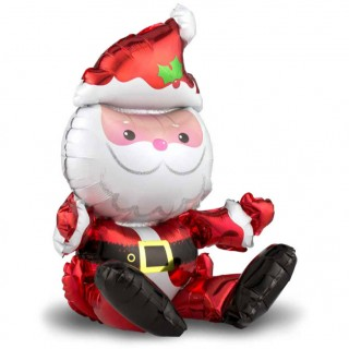 Сидячий Санта Клаус (20''/51 см)