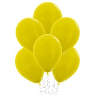 Жёлтые (10''/25 см), металлик