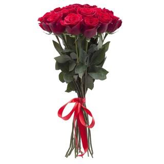 """Букет из 11 красных роз """"Фридом"""" (Эквадор)"""