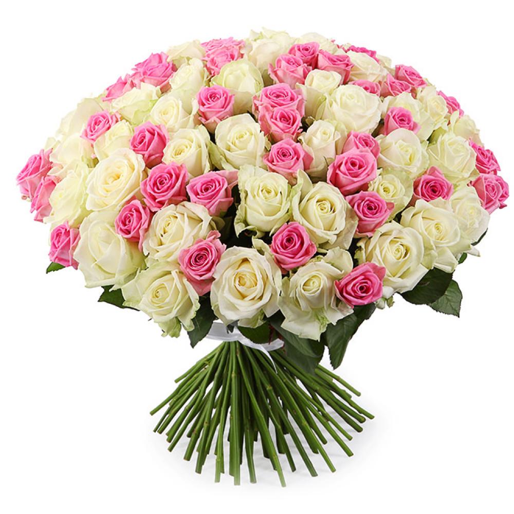 Картинки шикарных букетов из белых роз